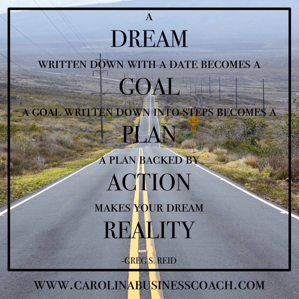 quote dream to goal